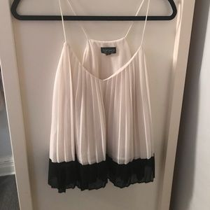 Topshop Pleated Camisole